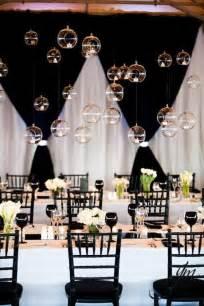 d 233 coration de salle de mariage en noir et blanc paperblog