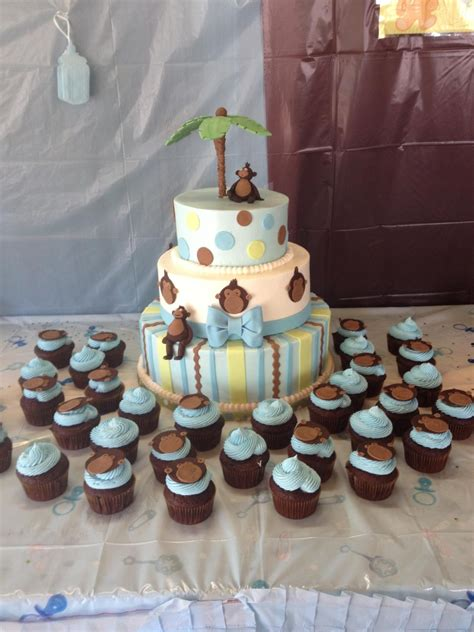 Monkey Baby Shower Theme by Monkey Theme Baby Shower Cakecentral