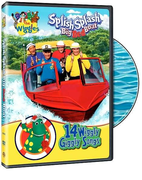 big boat song the wiggles splish splash big red boat by paul field