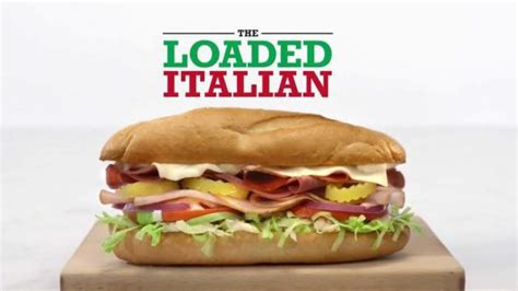 arbys loaded italian tv commercial ad 2015 hd advert arby s loaded italian tv commercial flag ispot tv