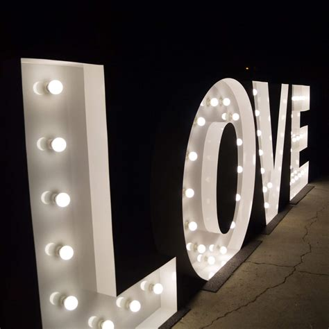 lit up light up letters stunning 1 2m illuminated marquee