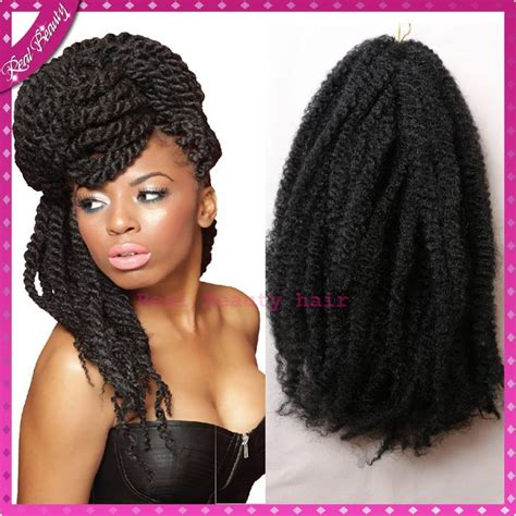 new style twist marley 1b braided synthetic lace front high quality kinky twists synthetic marley hair braid