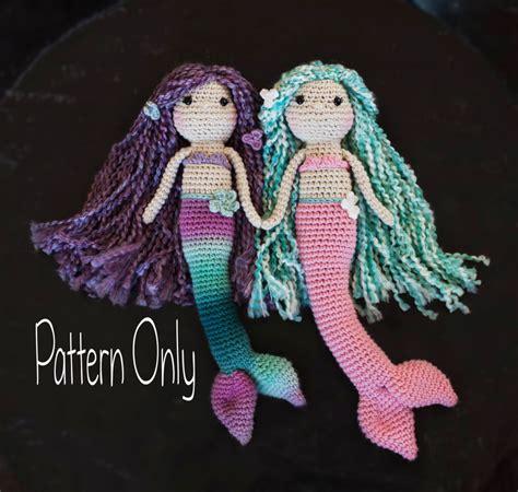 crochet mermaid pattern on pinterest crochet mermaid amigurumi mermaid free pattern slugom for