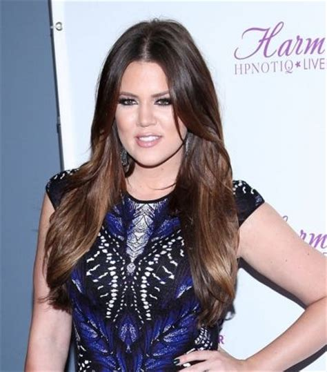 haircuts downtown hamilton khloe kardashians sexy center part hairstyle brunettes