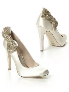 wedding shoes jeweled heels wedding shoes from dessy iris
