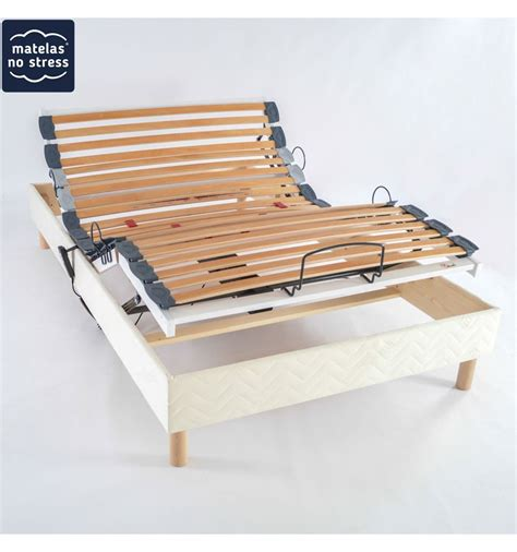 sommier relaxation electrique 120x180