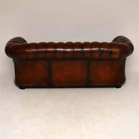chesterfield sofa antique antique leather chesterfield sofa at 1stdibs