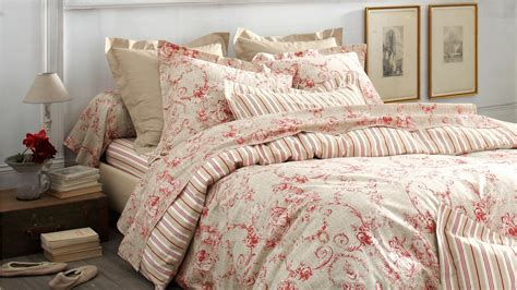 linge de lit toile de jouy la toile de jouy toujours tendance