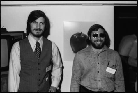 biography of steve jobs and steve wozniak steve jobs at homebrew computer club proof he was all