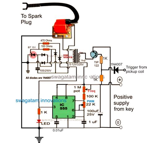 capacitive discharge firing circuit make this enhanced capacitive discharge ignition cdi circuit for better mileage for two and