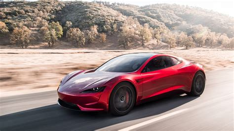 tesla electric car tesla roadster electric car 4k wallpaper