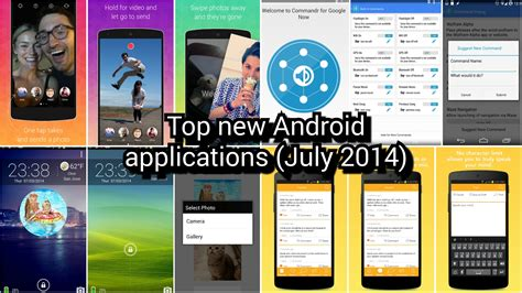 best new android apps for top new android applications july 2014 aivanet