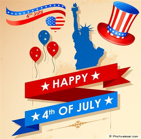 Happy 4th by Happy 4th Of July Greeting Cards Usa Independence Day