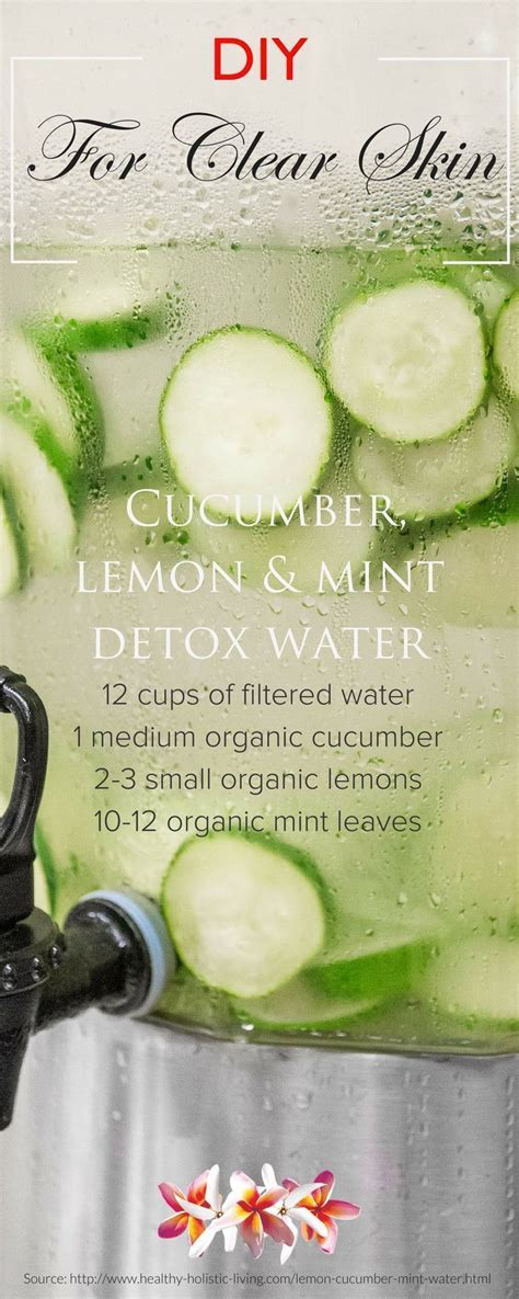 Best Detox For Glowing Skin by Drink Your Way To Clear Glowing Skin Water Recipes