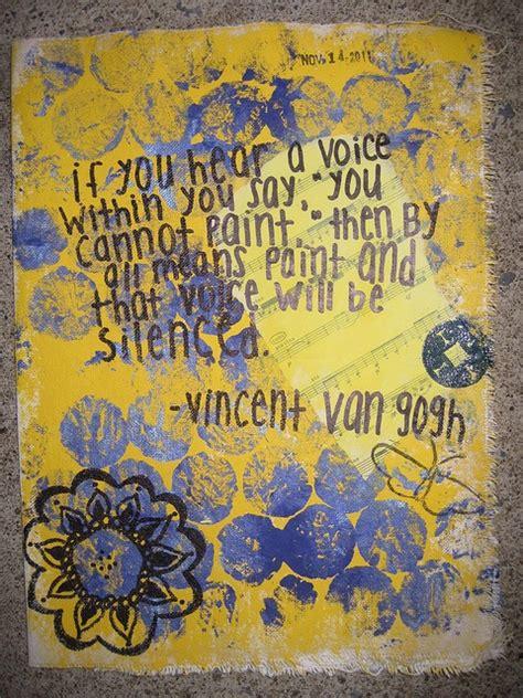 van gogh quote from art van gogh quotes quotesgram