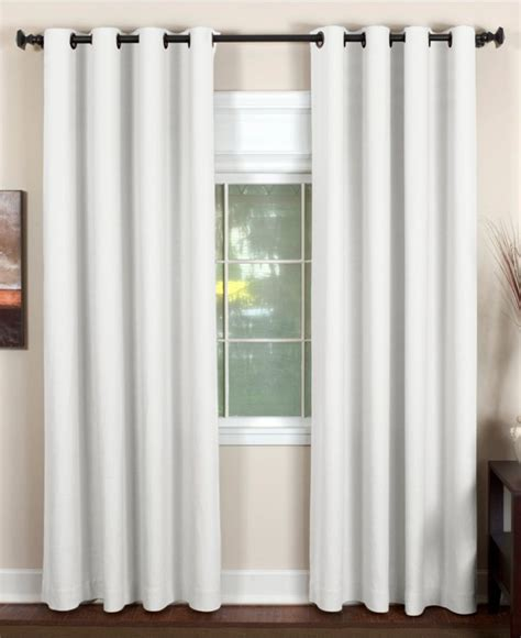 macy s curtains and window treatments elrene essex grommet window treatment collection