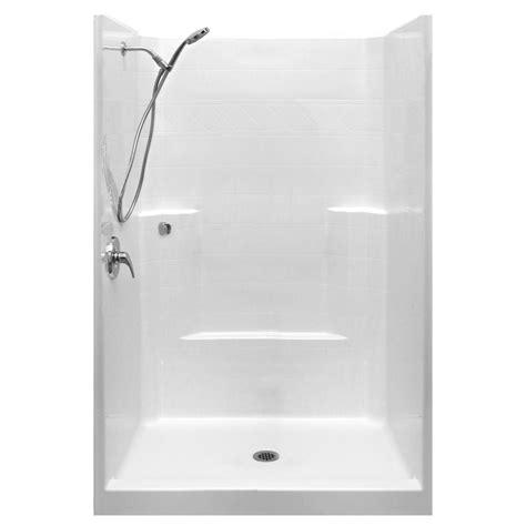 shower stalls ella standard sa 37 in x 48 in x 80 in 1 low