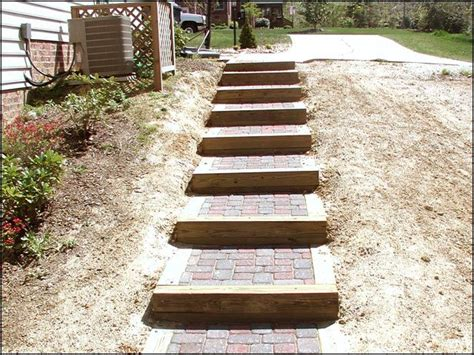 Landscape Stairs Design 1000 Images About Outdoor Wooden Stairs Pathways On Pinterest Wooden Steps A Hill And