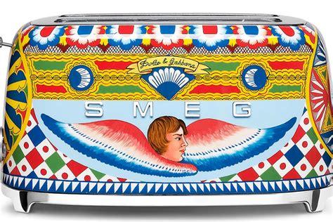 Lemari Es Smeg dolce gabbana kembali menghiasi peralatan dapur smeg