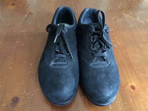 Sas Handcrafted Comfort Shoes - sas womens tripad comfort free time black suede walking