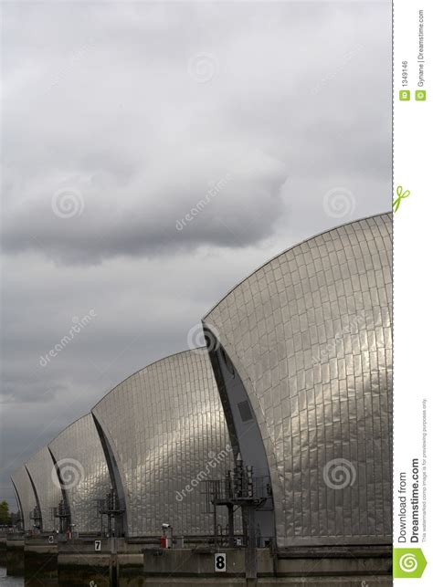 thames barrier animation thames barrier royalty free stock image image 1349146