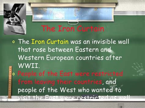 who first spoke of the iron curtain cold war 2010