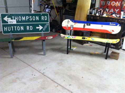 ski bench snowboard benches 1