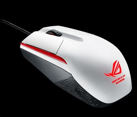 Mouse Asus Rog Sica asus announces rog sica white gaming mouse