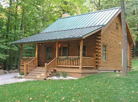 small log cabin kit and plans the design is and