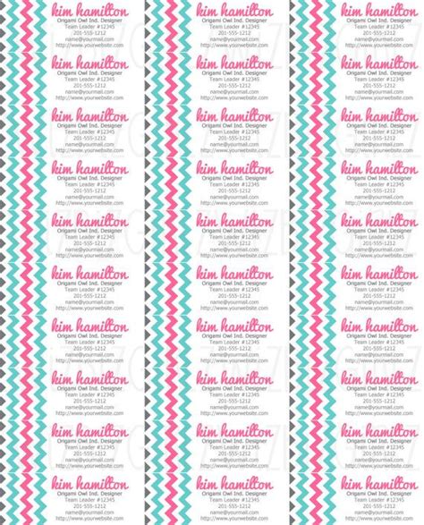 Origami Owl Address - origami owl address labels invitations ideas