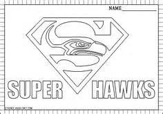 decal nfl seattle seahawks official team colors seattle washington sketch template - Seahawks Coloring Pages Printable