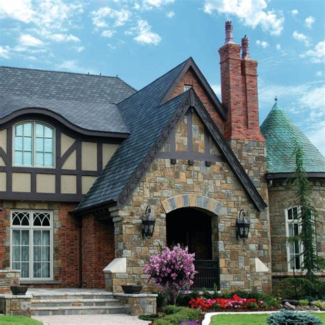 stone tudor style homes exterior home decorating ideas english tudor entry traditional exterior oklahoma
