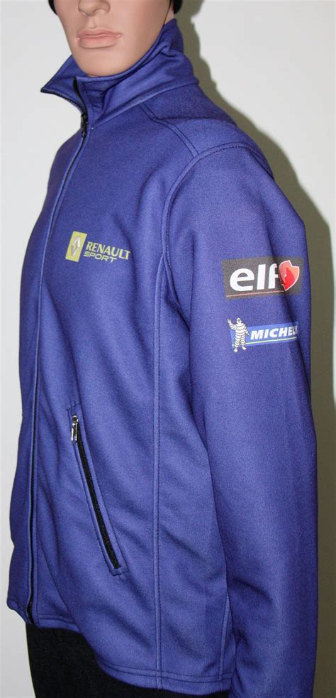 renault sport blue zip jacket t shirts with all of