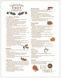thanksgiving dinner check list free printable thanksgiving checklist and place cards