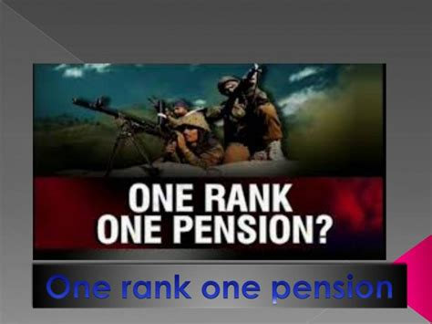 one rank one pension latest news central government employees news dopt orders 7th pay