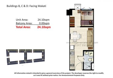 1 bedroom unit shore residences condos for sale in mall of asia complex