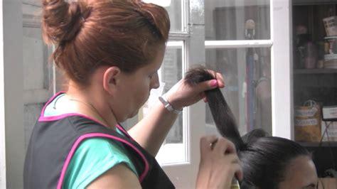 peinados de escolta muestra de desfile de peinados 2011 santa fe youtube