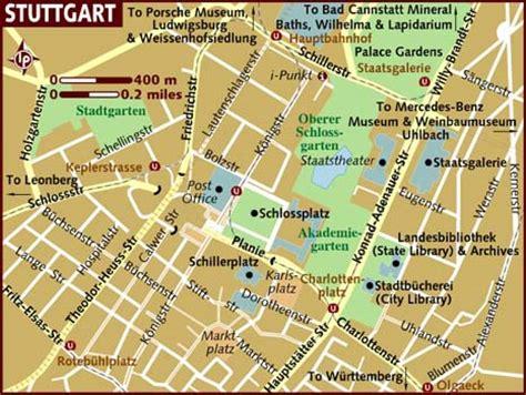 stuttgart map germany map of stuttgart