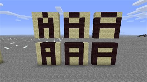minecraft letter a   Minecraft Seeds For PC, Xbox, PE, Ps3