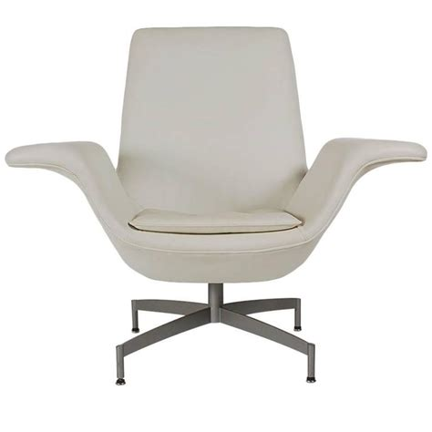 mid century modern swivel chair mid century modern dialogue hbf swivel lounge chair in