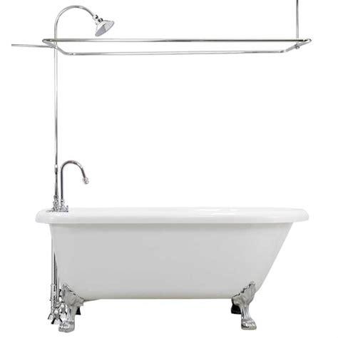 Bathtub With Claw by Classic Acrylic Claw Tub With Shower Cflc 403 Clawfoot