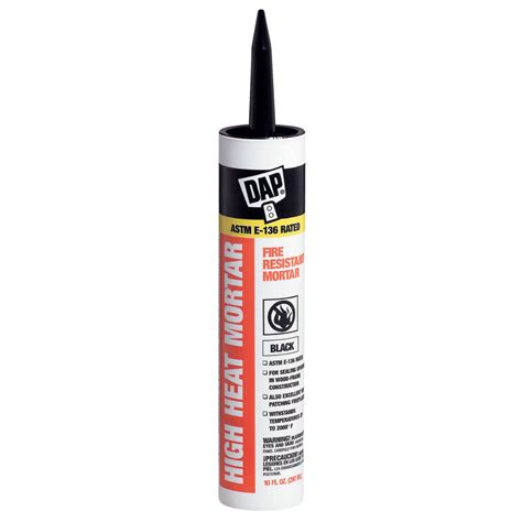 shop dap 10 fl oz stove and fireplace cement at lowes