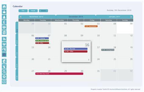 calendar layout stack overflow javascript reskin or develop an outlook lookalike