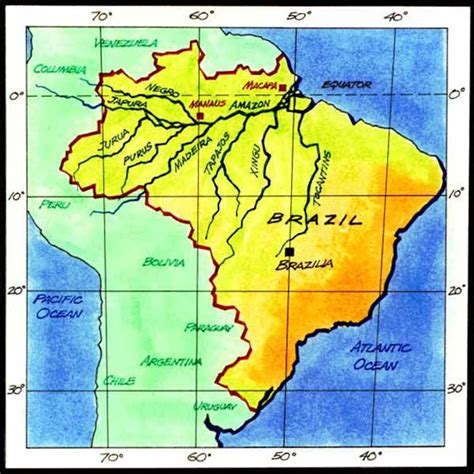 amazon map rivers of life river profiles amazon map