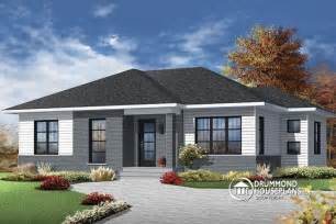 Modern Bungalow House Plans by W3138 Economical Contemporary Modern House Plan With