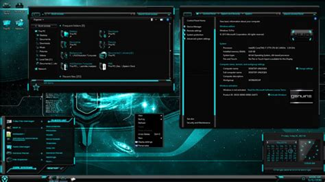 download computer themes for windows 10 hud evolution turquoise for windows 10 th2 free windows