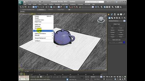 viewport layout in 3ds max 3d max interface viewport shading options youtube