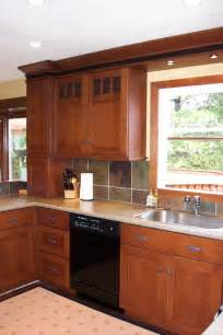 mission style cabinets kitchen craftsman with cabinets