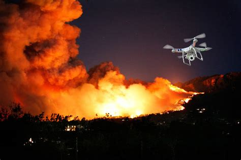 fire fighting drone drones can eradicate fire scientists say trackimo