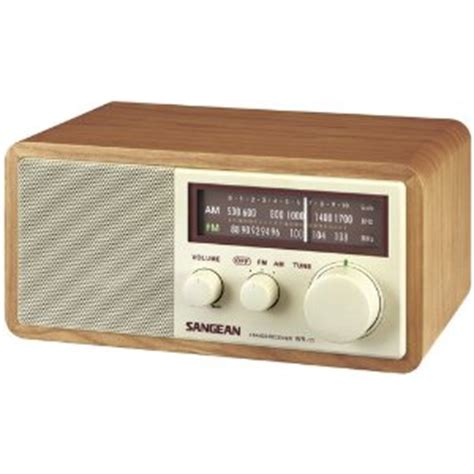 Sangean Retro Style Am Fm Radio Desk Radio With Reception